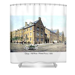 Chicago Illinois - Hull House - Halstead Avenue - 1906 Shower Curtain