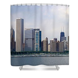 Chicago Panorama Shower Curtain