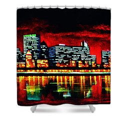 Chicago  Sold Shower Curtain