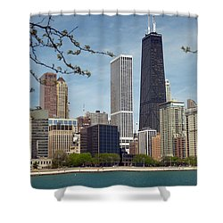 Chicago Spring Shower Curtain