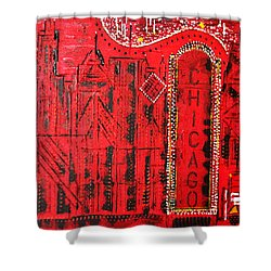 Chicago Theater Shower Curtain by George Riney