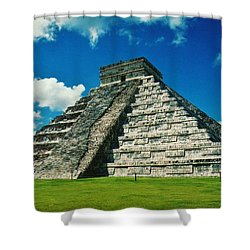 Chichen Itza Shower Curtain