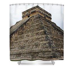 Chichen Itza Ruins 21 Shower Curtain