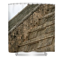 Shower Curtain featuring the photograph Chichen Itza by Silvia Bruno