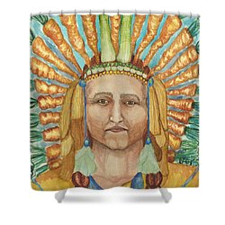Chief 24 Carrots Shower Curtain