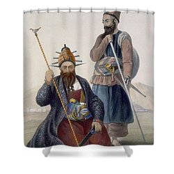 Chief Executioner And Assistant Of His Shower Curtain by James Rattray
