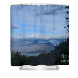 Chief Joseph Hiway-signed-#0001 Shower Curtain