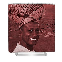 Chief Of The Desert Wf Shower Curtain