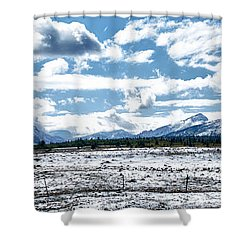 Chief Of The Mountains Shower Curtain