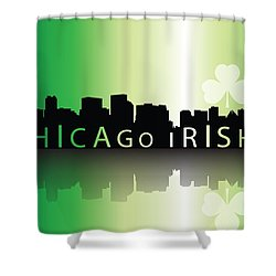 Chigago Irish Shower Curtain