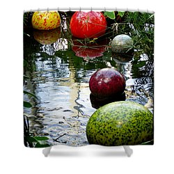 Chihuly Globes Shower Curtain