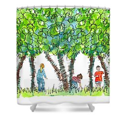 Child Play Shower Curtain
