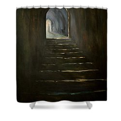 Childhood Memories 1 Shower Curtain by Jean Walker