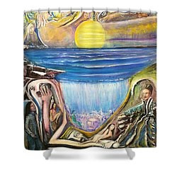 Children Of The Sun Shower Curtain