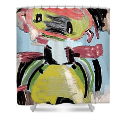 Child's Game Shower Curtain by Tine Nordbred