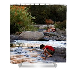 Childs Play Shower Curtain by Melanie Lankford Photography