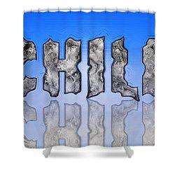 Chill Digital Art Prints Shower Curtain