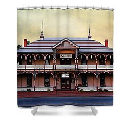 Chimes Antique Store Shower Curtain by Glenn McCarthy Art and Photography