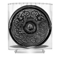 China - Bronze Mirror Shower Curtain by Granger