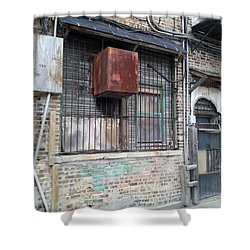 China Town Shower Curtain