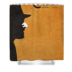 Chinatown Shower Curtain by Ayse Deniz