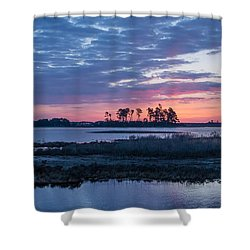 Chincoteague Wildlife Refuge Dawn Shower Curtain
