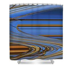 Chocolate Shower Curtain by Carol Lynch