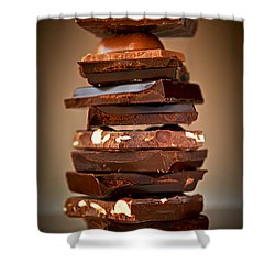 Chocolate Shower Curtain by Elena Elisseeva