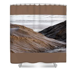 Shower Curtain featuring the photograph Chocolate River by PJ Boylan