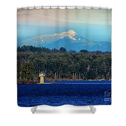 Chocorua And Spindle Point Shower Curtain