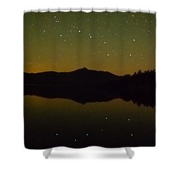 Chocorua Stars Shower Curtain
