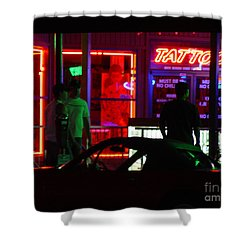 Choices After Midnight Shower Curtain by Peter Piatt