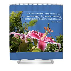 Choose Your Quote Choose Your Picture 17 Shower Curtain