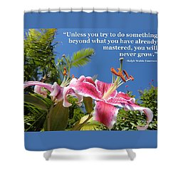 Choose Your Quote Choose Your Picture 18 Shower Curtain