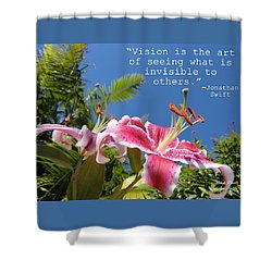 Choose Your Quote Choose Your Picture 19 Shower Curtain