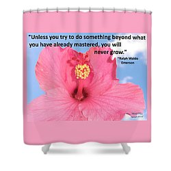 Choose Your Quote Choose Your Picture 5 Shower Curtain