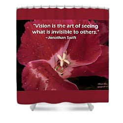 Choose Your Quote Choose Your Picture 6 Shower Curtain