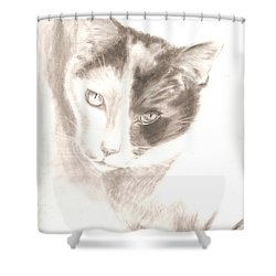 Chopin Shower Curtain