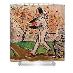 Chris Davis #19 Shower Curtain