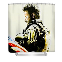 Chris Kyle Shower Curtain