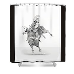 Chris Shivers  Shower Curtain by Don Medina
