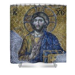 Christ Pantocrator IIi Shower Curtain