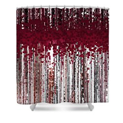 Christian Art- Deny Yourself And Follow. Mark 8 34 Shower Curtain by Mark Lawrence