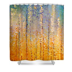 Christian Art- Everyone Who Calls. Romans 10 13 Shower Curtain by Mark Lawrence
