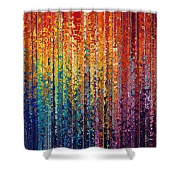 Christian Art- God Who Works In You. Philippians 2 13 Shower Curtain by Mark Lawrence