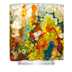 Christian Art- Philippians 1 6. God Completes What He Starts Shower Curtain by Mark Lawrence