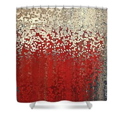 Christian Art- You Can't Do It Alone. Zechariah 4 6 Shower Curtain by Mark Lawrence