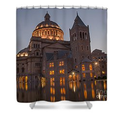 Christian Science Center 2 Shower Curtain