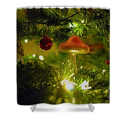 Shower Curtain featuring the photograph Christmas Card by Cassandra Buckley