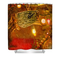 Christmas Cover  Shower Curtain